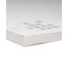 bloc con cartón gris como base