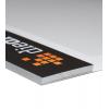 La posición del encolado del bloc se puede elegir libremente. Con cartón gris para estabilidad de la parte inferior