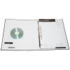 Funda opcional de PVC transparente para tarjetas de visita y CD