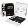 Calendarios de mesa de varias páginas con respaldo integrado (sin impresión)