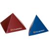 Pirámide. El expositor especial. Disponible como pirámide de 3 o 4 caras en dos tamaños distintos