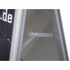 gracias a una lámina de protección antirreflejos el caballete es completamente resistente a la intemperie