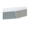 Material: KAPA-Plast; aunque el material tiene un espesor de 10mm la placa se caracteriza por tener un peso muy ligero.