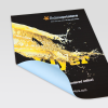 Distintos tipos de papel como, por ejemplo, papel para carteles de 120g/m² mate, ...