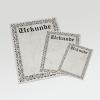 Un certificado clásico, sencillo y elegante
