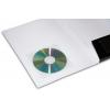 opcional: funda adhesiva transparente para los CD