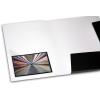 opcional: funda adhesiva transparente en triángulo