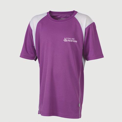 violeta / blanco