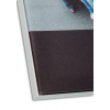 aumento del perfil y de la superficie del material