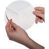 Adhesivos para exteriores sobre lámina de PVC blanca con hendidura en el reverso,para facilitar la retirada papel protector