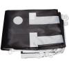 Incluido en la entrega: bandera con ganchos de material sintético, impresa t doblada