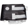 Incluido en la entrega: bandera con ganchos de material sintético, impresa y doblada