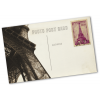 Ejemplo: tarjetas postales con reverso individualizado (sellos no incluidos)