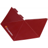 pirámide de 4 caras, se entrega troquelada y en plano