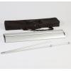 Accesorios: estuche de aluminio, mástil de 3 piezas, bolsa de transporte (similar a la imagen)