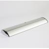 Estuche de aluminio estable con apariencia cromada, diseño pesado, por lo que no son necesarios los pies plegables adicionales (similar a la imagen)