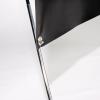 La banderola estándar en X está disponible en dos tamaños diferentes: 60 x 160 cm u 80 x 200 cm.
