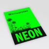 Papel neón verde (similar a la imagen)