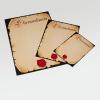Certificados de honor en los formatos DIN-A3, DIN-A4 y DIN-A5