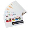 Las tarjetas de plástico son muy robustas
