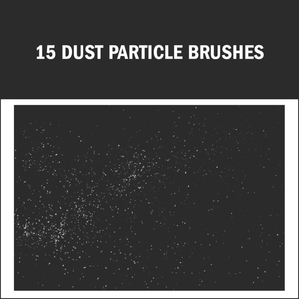 Pinceles de Photoshop: partículas