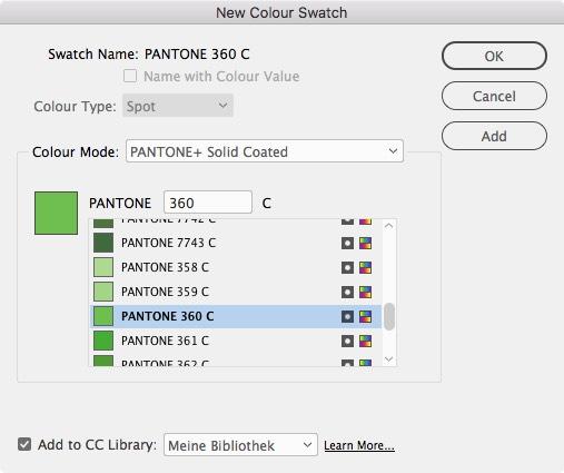 La oferta de Pantone en Adobe InDesign