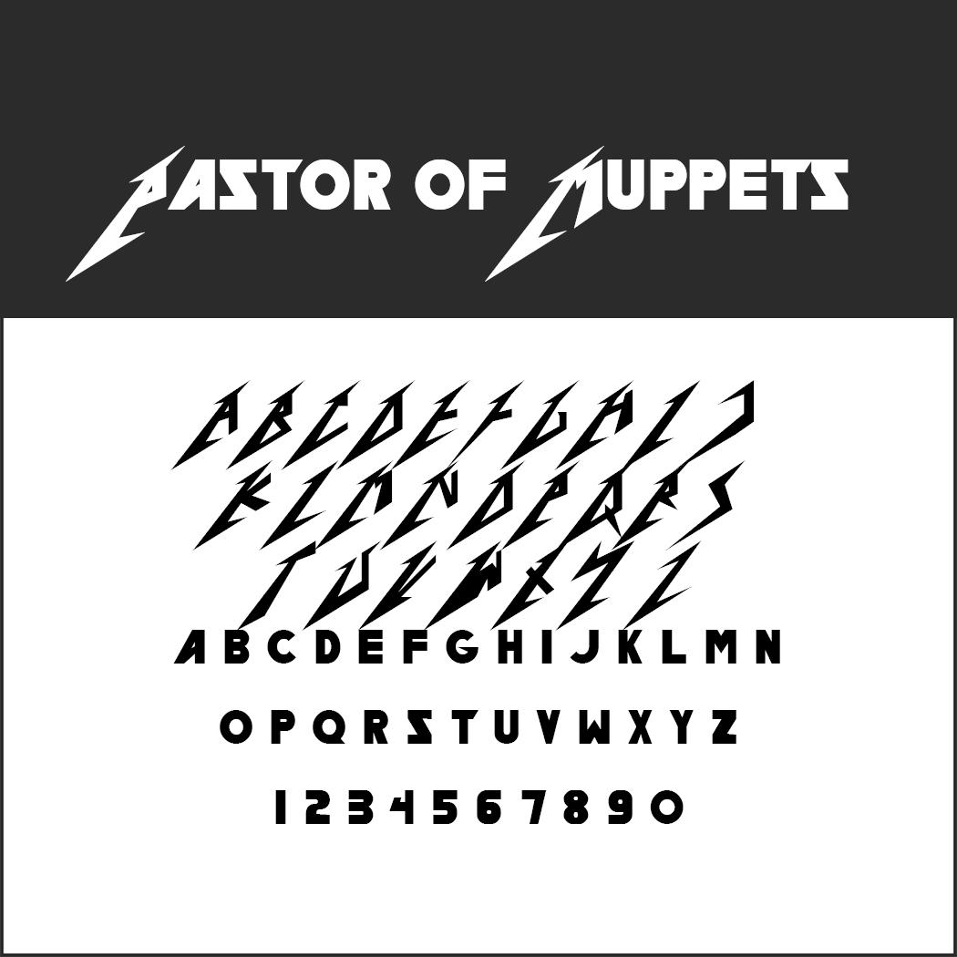 Tipografía Metallica Llamativas Fuentes Heavy Metal Para Descargar